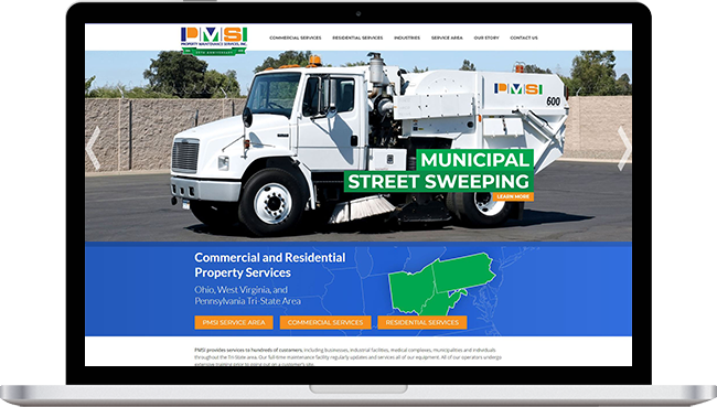 Property Maintenance Services, Inc. Website Project with Mobile Responsive Design